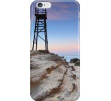 Shark Tower and jagged rocks Redhead iPhone Case/Skin