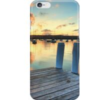 Sunset Point Frederick Wharf Gosford iPhone Case/Skin