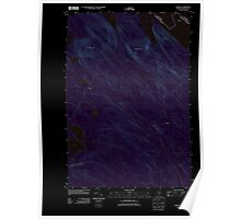 Maine USGS Historical Map Forest 20110829 TM Inversion Poster