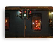 Red Ribbon Regent Canvas Print