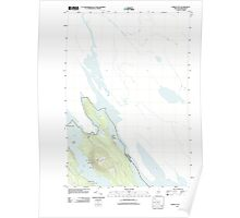 Maine USGS Historical Map Forest City 20110830 TM Poster