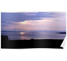 Sunshine over the Mainland Poster