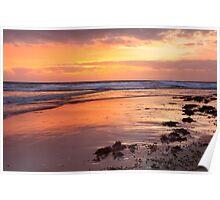 Sunrise south Entrance Beach Poster