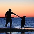 Father and Son by Patricia Gibson