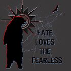 """""""Fate Loves the Fearless"""" - Spirit Bear & Spirit Eagle Silhouette  by VisionQuestArts"""