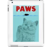 PAWS Parody Cat Attack iPad Case/Skin