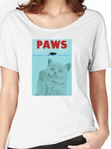 PAWS Parody Cat Attack Women's Relaxed Fit T-Shirt