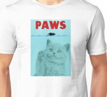PAWS Parody Cat Attack Unisex T-Shirt