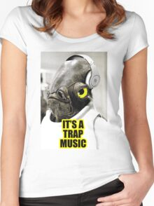 It's Trap Music Women's Fitted Scoop T-Shirt