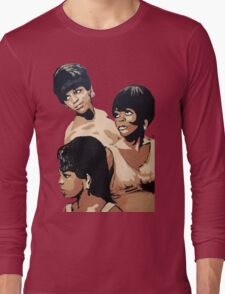 Diana Ross & the Supremes Long Sleeve T-Shirt