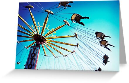 Swings at the Fair by brightfizz