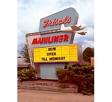 Frisch's Mainliner (Slide) Photographic Print