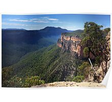 Grose Valley, Blue Mountains Australia Poster
