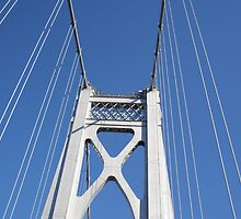 Going Over the Mid-Hudson Bridge, Poughkeepsie, NY by Melzo318
