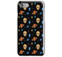Skull Planets pattern iPhone Case/Skin