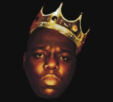 Biggie Smalls Oil Painting w/Crown by jakeee