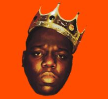Biggie Smalls Oil Painting w/Crown Kids Clothes