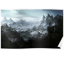 The Elder Scrolls V - Skyrim landscape Poster