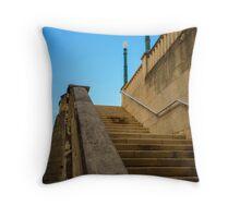 Staircase -Old San Juan  Throw Pillow