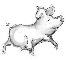 pig by Jodi Franzke