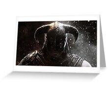 The Elder Scrolls V - Skyrim warrior Greeting Card