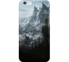 The Elder Scrolls V - Skyrim landscape iPhone Case/Skin