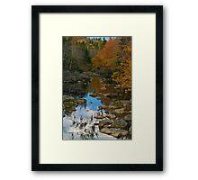 Stillness Speaking Framed Print