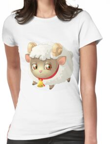 Cute sheep - Year of the Sheep 2015 Womens Fitted T-Shirt