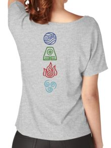Avatar Four Elements Women's Relaxed Fit T-Shirt