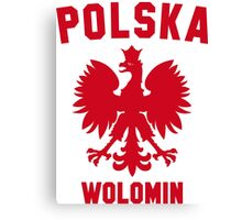 POLSKA WOLOMIN Canvas Print