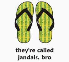 Jandals Bro