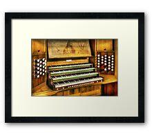 Church Organ Art Framed Print