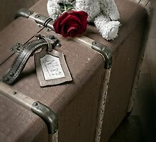 old suitcase by Joana Kruse