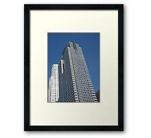 Los Angeles Ca Skyscraper Framed Print