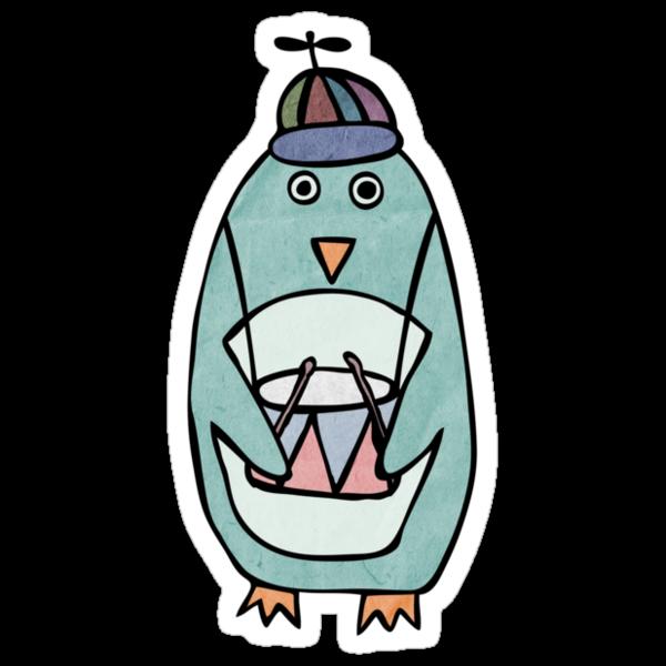 Something Great: Green Penguin (Girls) by wonderful