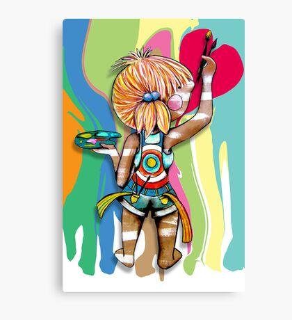 Art Chick Canvas Print