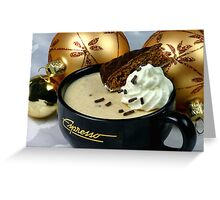 Christmas Mousse Greeting Card