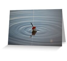 float in water Greeting Card