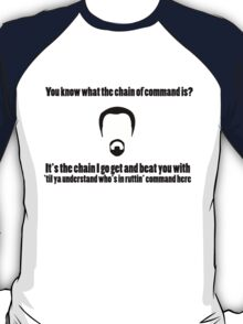 The Chain of Command T-Shirt