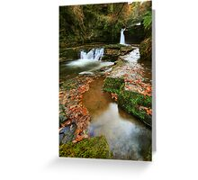 Mystic Pools: South Wales Greeting Card