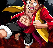 Monkey D Luffy by Skilling