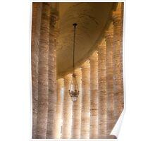 Vatican Column Poster