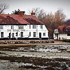 """"""" Each high Tide brings problems to this old Pub"""" by Malcolm Chant"""