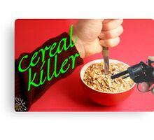 Cereal Killer at Home Metal Print