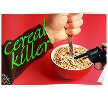 Cereal Killer at Home Poster