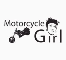 Motorcycle Girl by Gerel Gruber