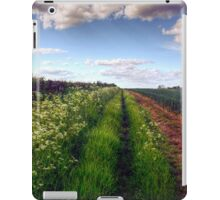 Rural Field Path iPad Case/Skin