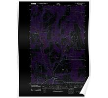 Maine USGS Historical Map Fort Fairfield NW 20110907 TM Inversion Poster