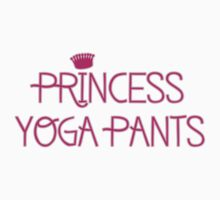 Princess Yoga Pants One Piece - Short Sleeve