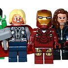 LEGO Avengers with Nick Fury by jenni460